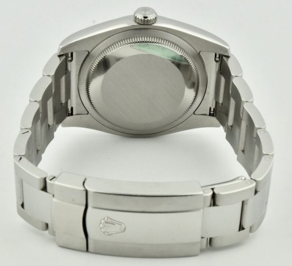 rolex datejust stainless steel oyster band