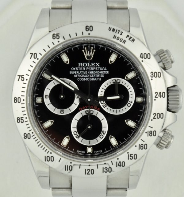 Rolex Daytona 116520 black dial for sale