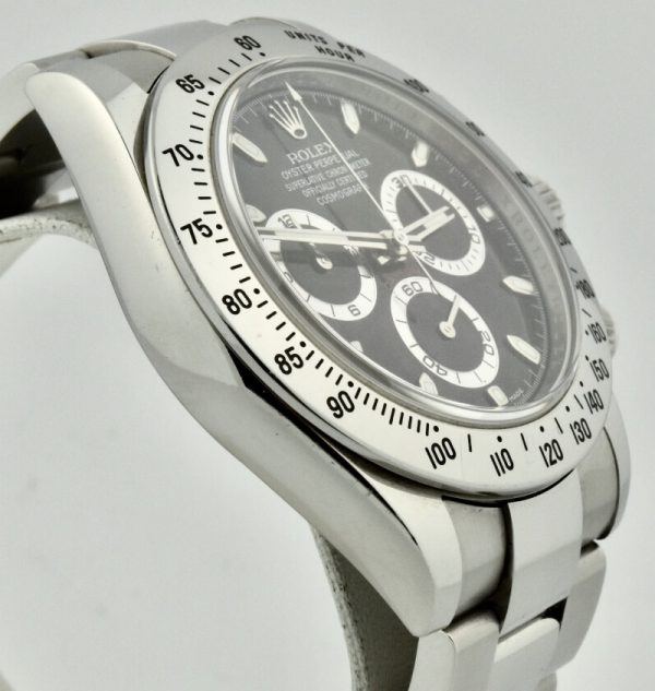 rolex Daytona 116520 case side