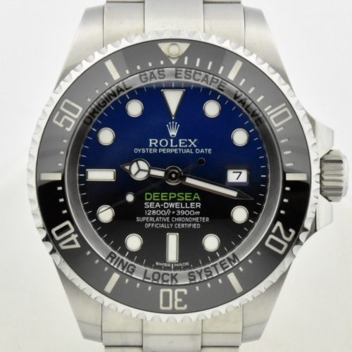 Rolex James Cameron deepsea 116660 Blue for sale