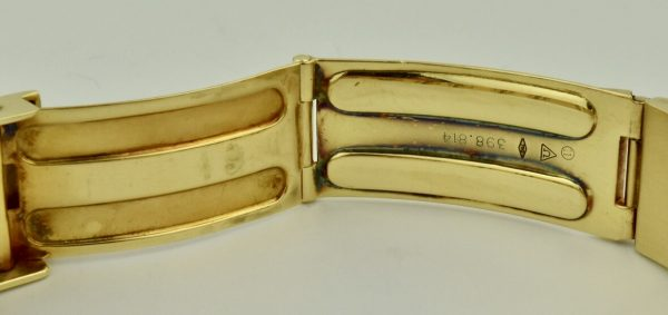 omega 18k gold clasp