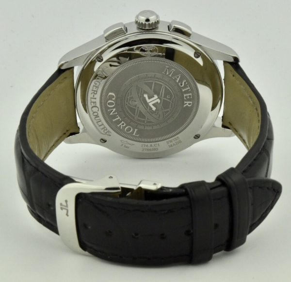 jaeger lecoultre master chronograph case back