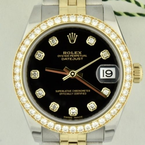 Rolex datejust 178383 Factory Diamonds For sale