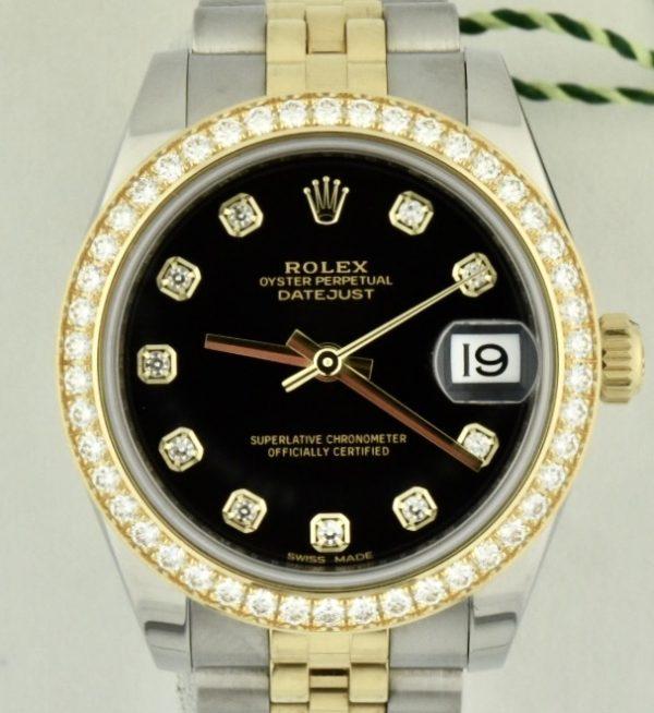 Rolex datejust 178383 Factory Diamonds For sale