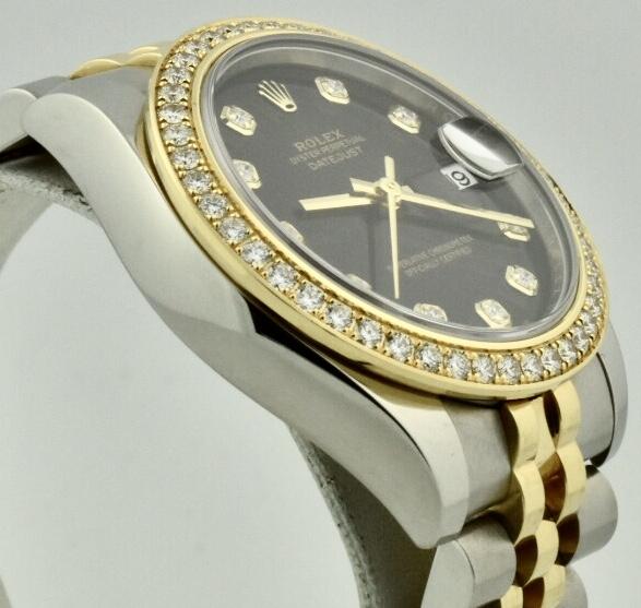 rolex 178383 diamond bezel