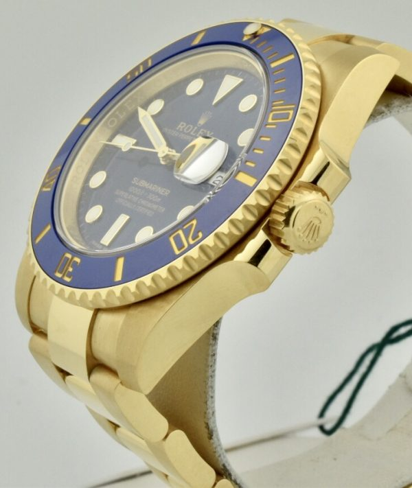 rolex 116618lb blue dial
