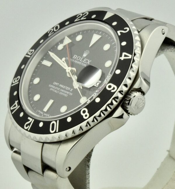 rolex gmt 16710 black bezel