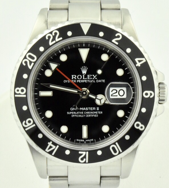 Rolex GMT Master 16710 black bezel for sale