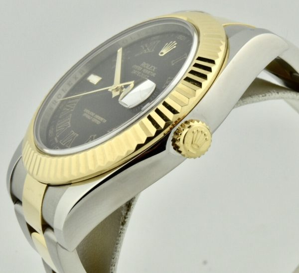 rolex datejust 116333 crown