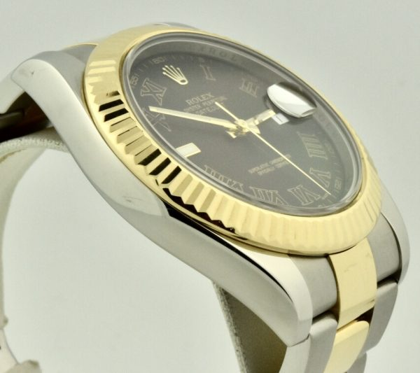 rolex 116333 grey dial