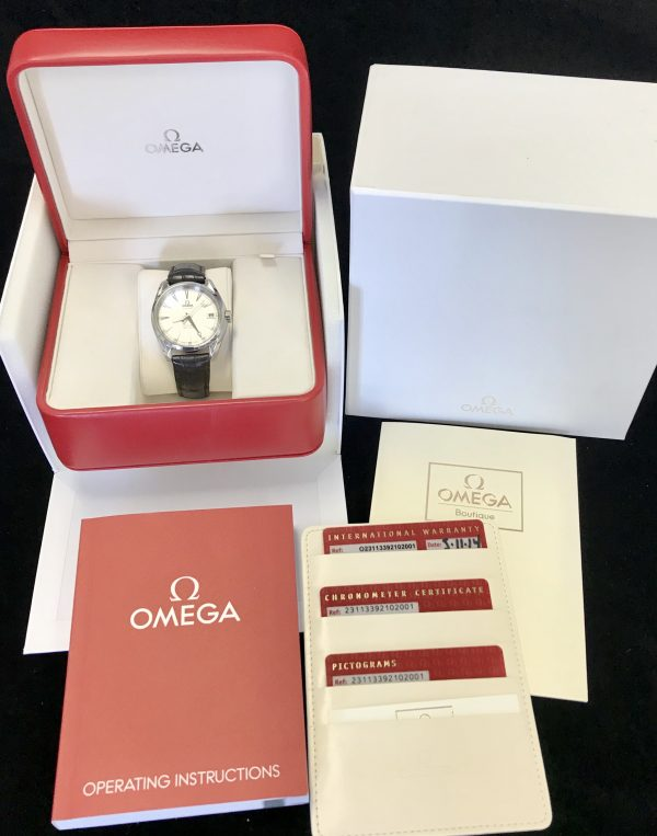 omega seamaster aqua terra 231.13.39.21.02.001 for sale