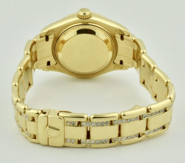 rolex pearlmaster case gold