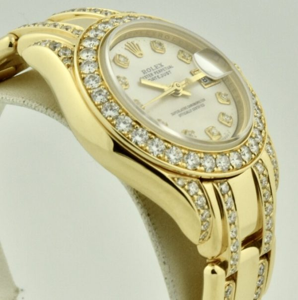 ladies rolex pearlmaster 80298 for sale