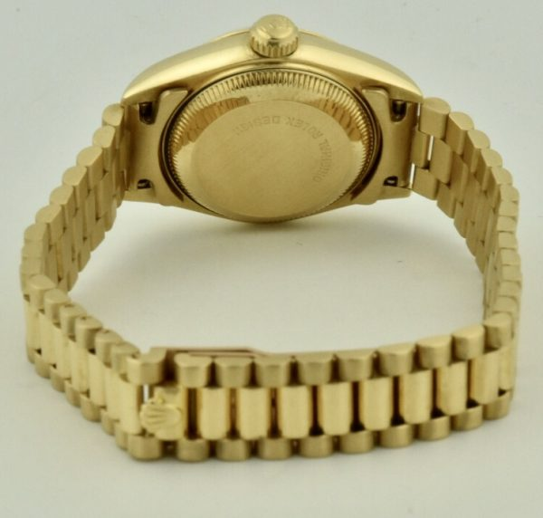 ladies rolex 69178 case back