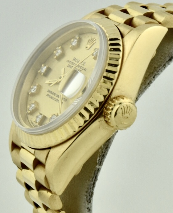 rolex 69178 gold crown