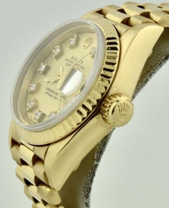 rolex 69178 gold crown