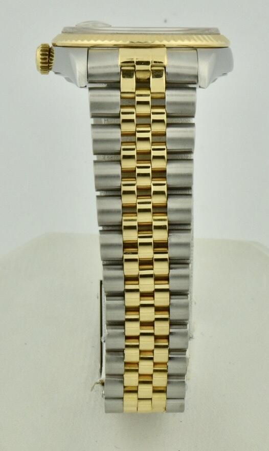 rolex steel and gold jubilee bracelet