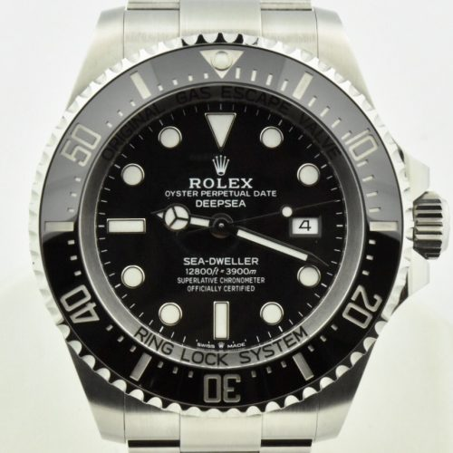 2018 rolex deepsea sea dweller 126660 black dial for sale