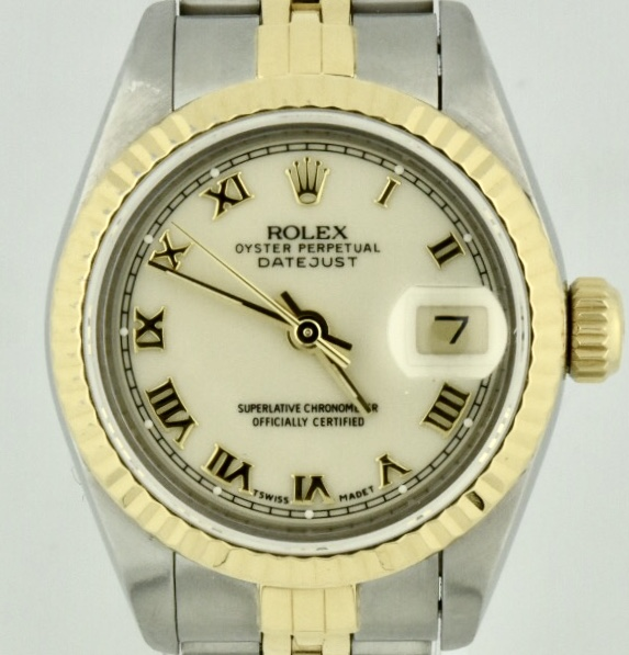 1991 Rolex Datejust 69173 Ivory Dial For Sale