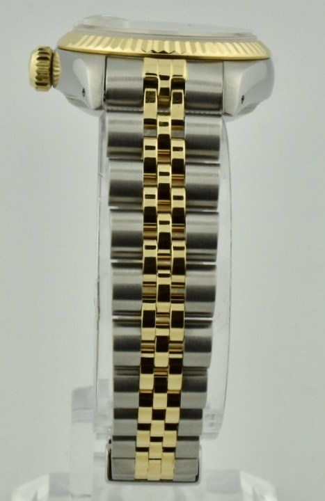 ladies rolex band 2 tone