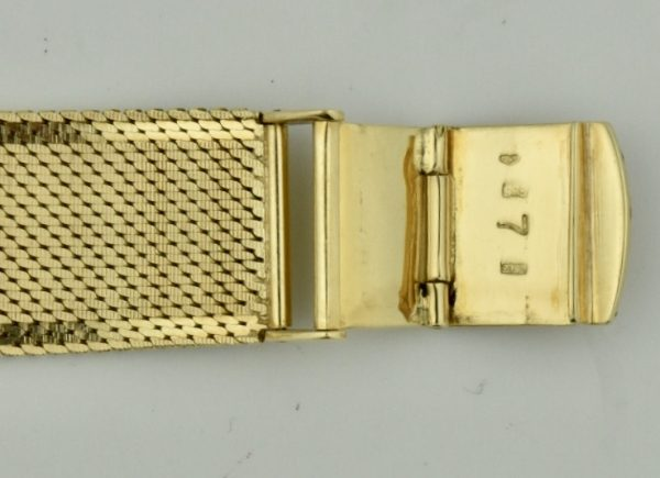 omega constellation 14k gold clasp