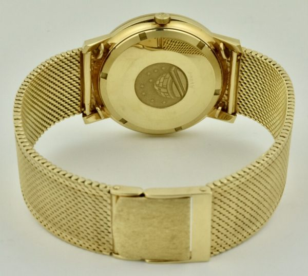 omega constellation case back