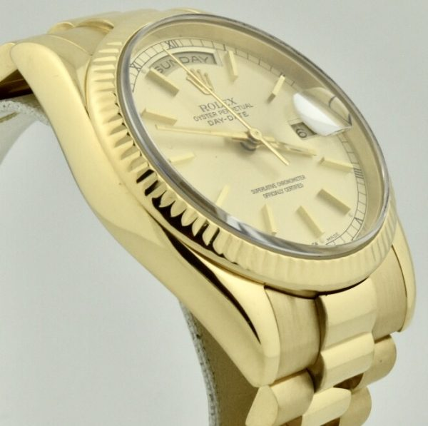 rolex 118238 president 2001 for sale