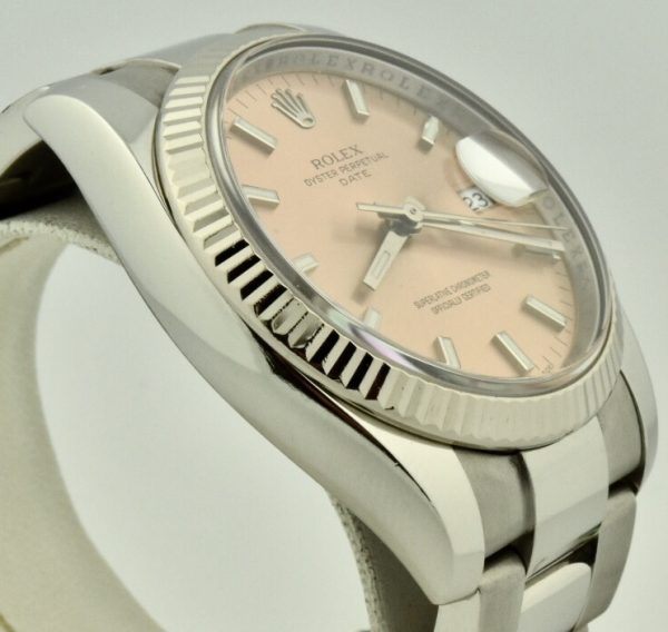 rolex date pink dial