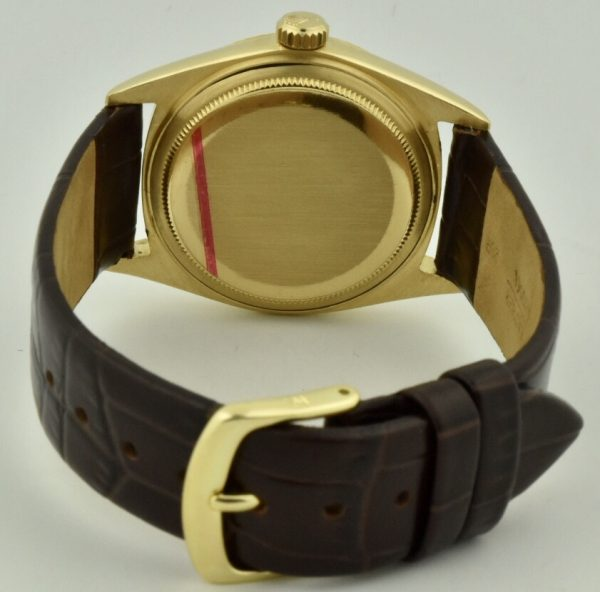 rolex 1803 case back gold