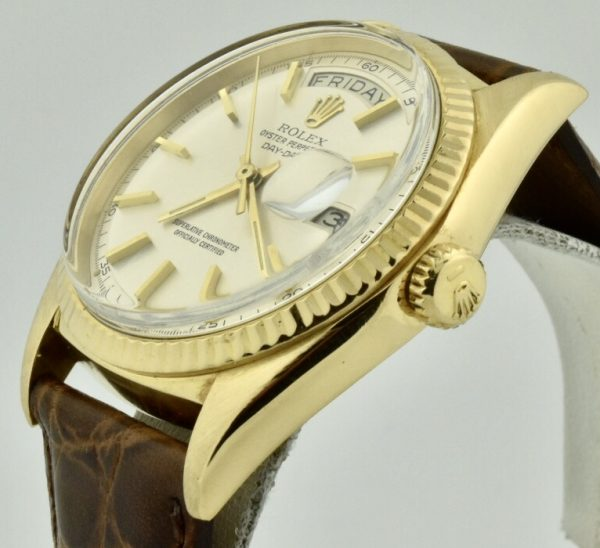 rolex day date 1803 crown