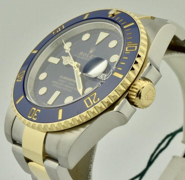 rolex submariner 116613lb crown