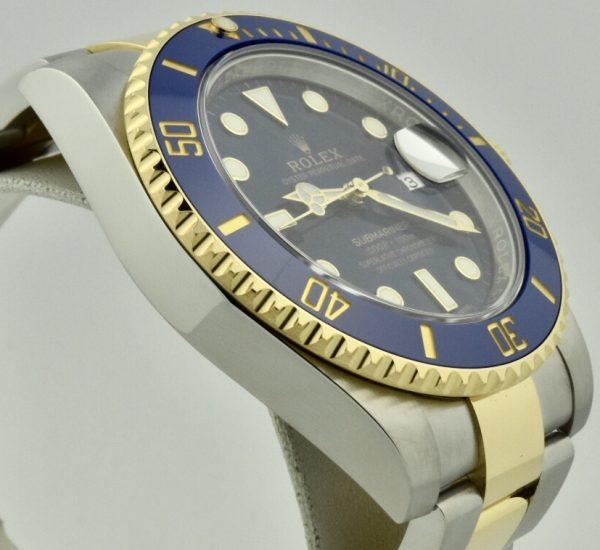 rolex submariner blue sunburst dial