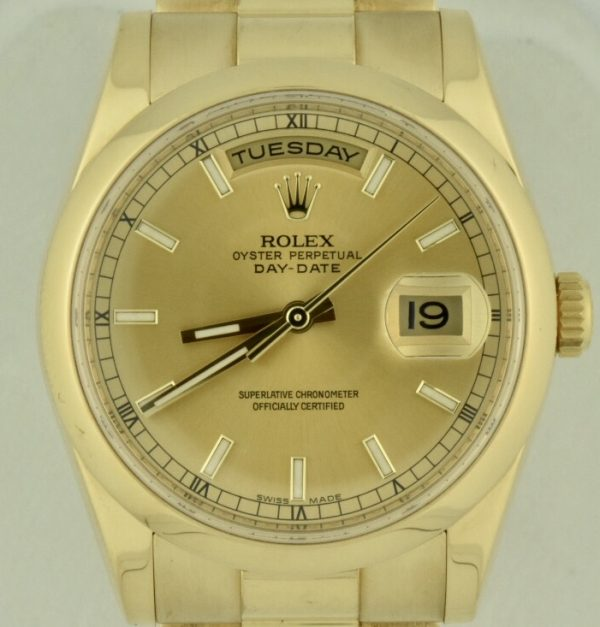 Rolex president day date 118208 for sale 2012