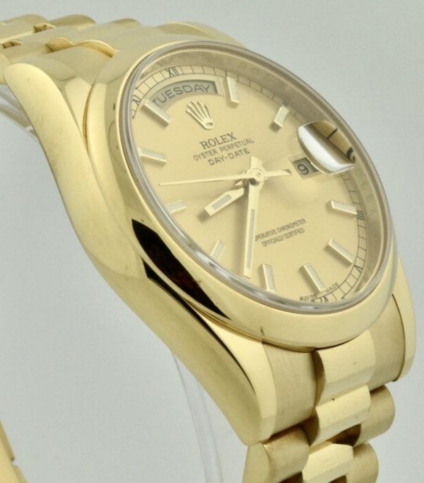 rolex president 36mm 118208 for sale atlanta