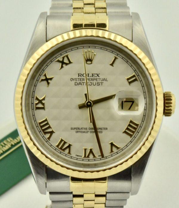 1997 Rolex datejust 16233 U serial