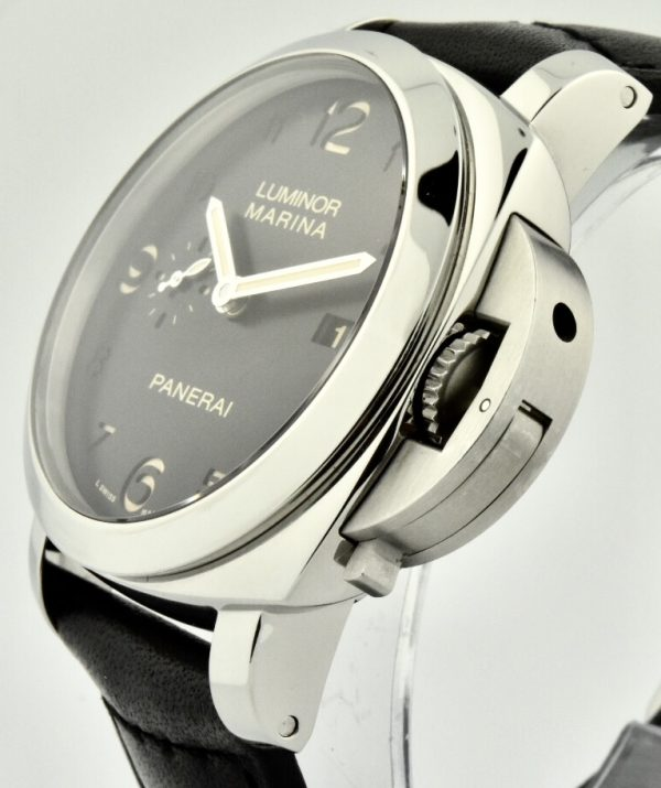 panerai luminor marina crown