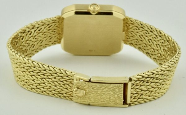 rolex cellini 18k yellow gold band