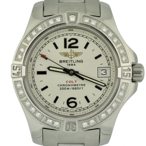 ladies breitling colt diamonds A7738853