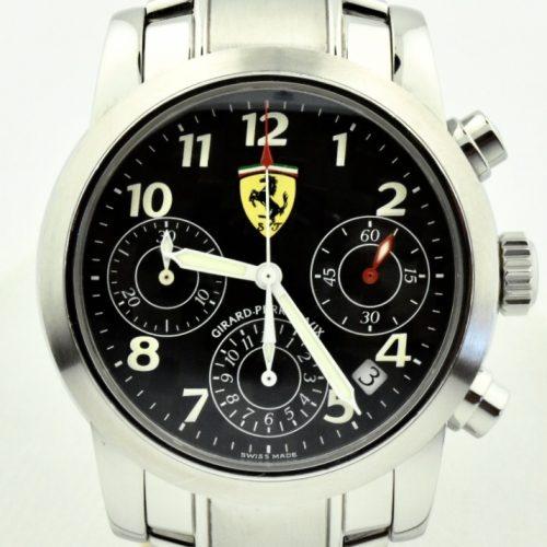 Girard Perregaux Ferrari Chronograph Watch 8020 for sale