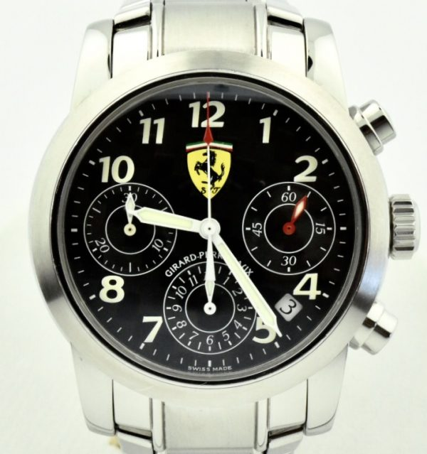 Girard Perregaux Ferrari Chronograph Watch 8020 for sale