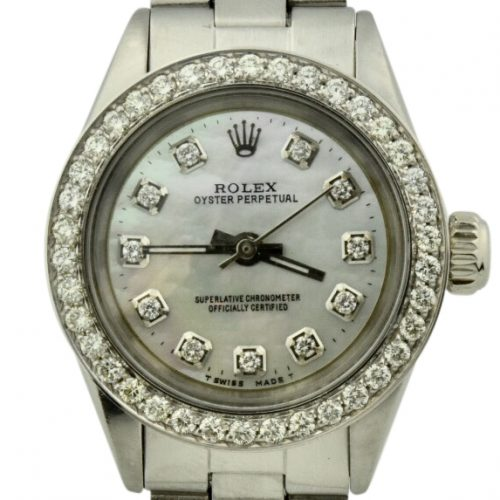 1962 ladies rolex oyster perpetual diamond