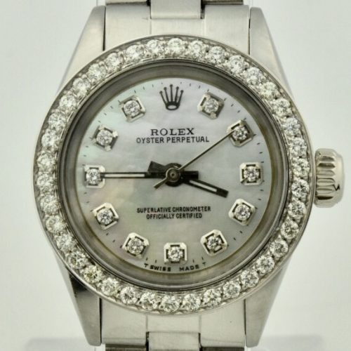 1962 Rolex Oyster perpetual diamond bezel for sale