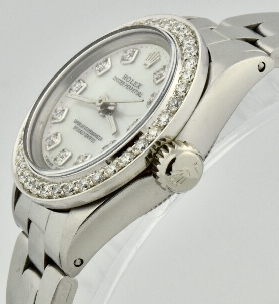 ladies rolex 6623 diamond dial for sale
