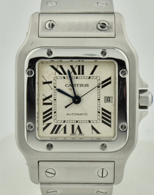 Cartier Santos Galbee automatic for sale