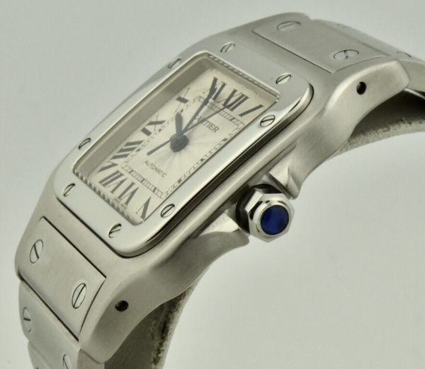 cartier santos crown