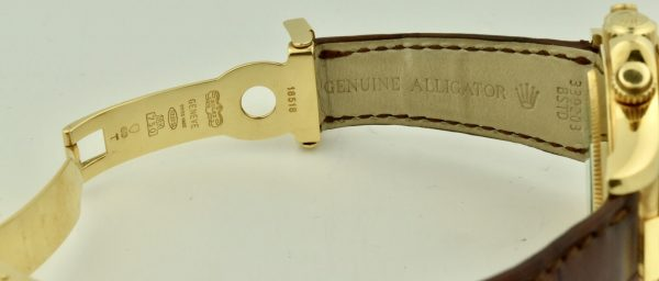 rolex Daytona 18k gold clasp