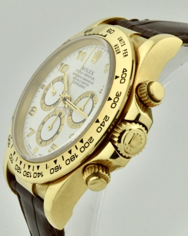 rolex Daytona gold crown