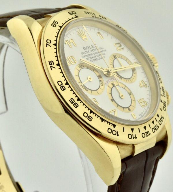 Rolex Daytona 16518 white dial