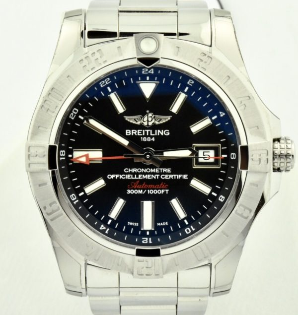 Breitling Colt Quartz a74388 volcano black dial for sale new