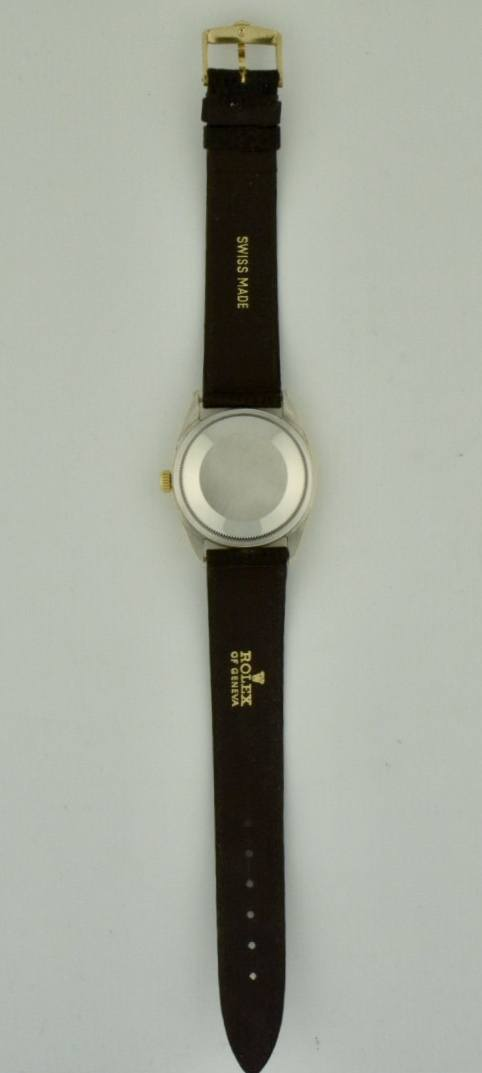 rolex oyster date case back